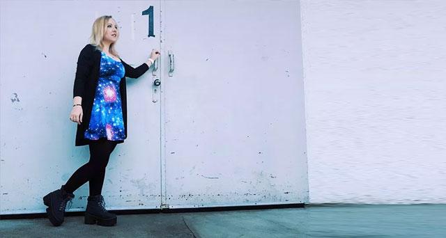 Sewing my own Galaxy dress