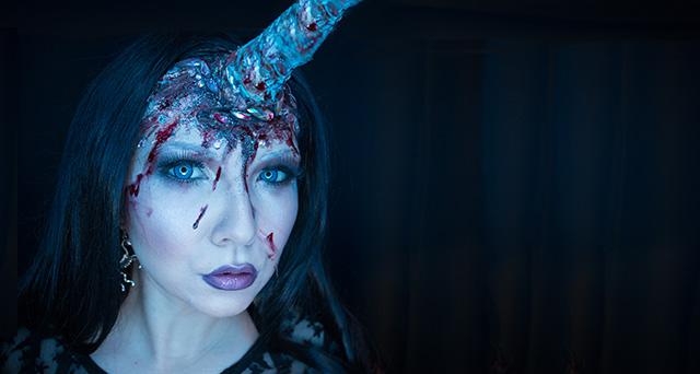 Halloween Unicorn Make-up