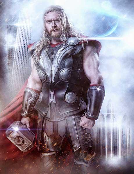 Thor-Cosplay-Calvin-Hollywood-JorgeB-Shooting