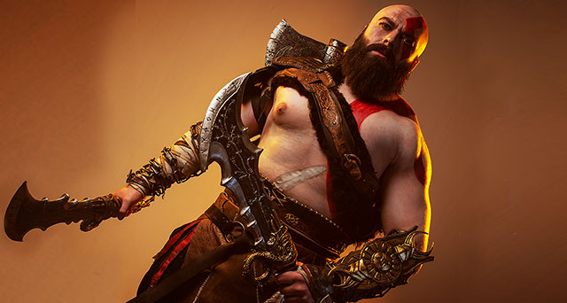 Cosplay Portfolio: Kratos from God of War